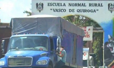 Normalistas camionetas