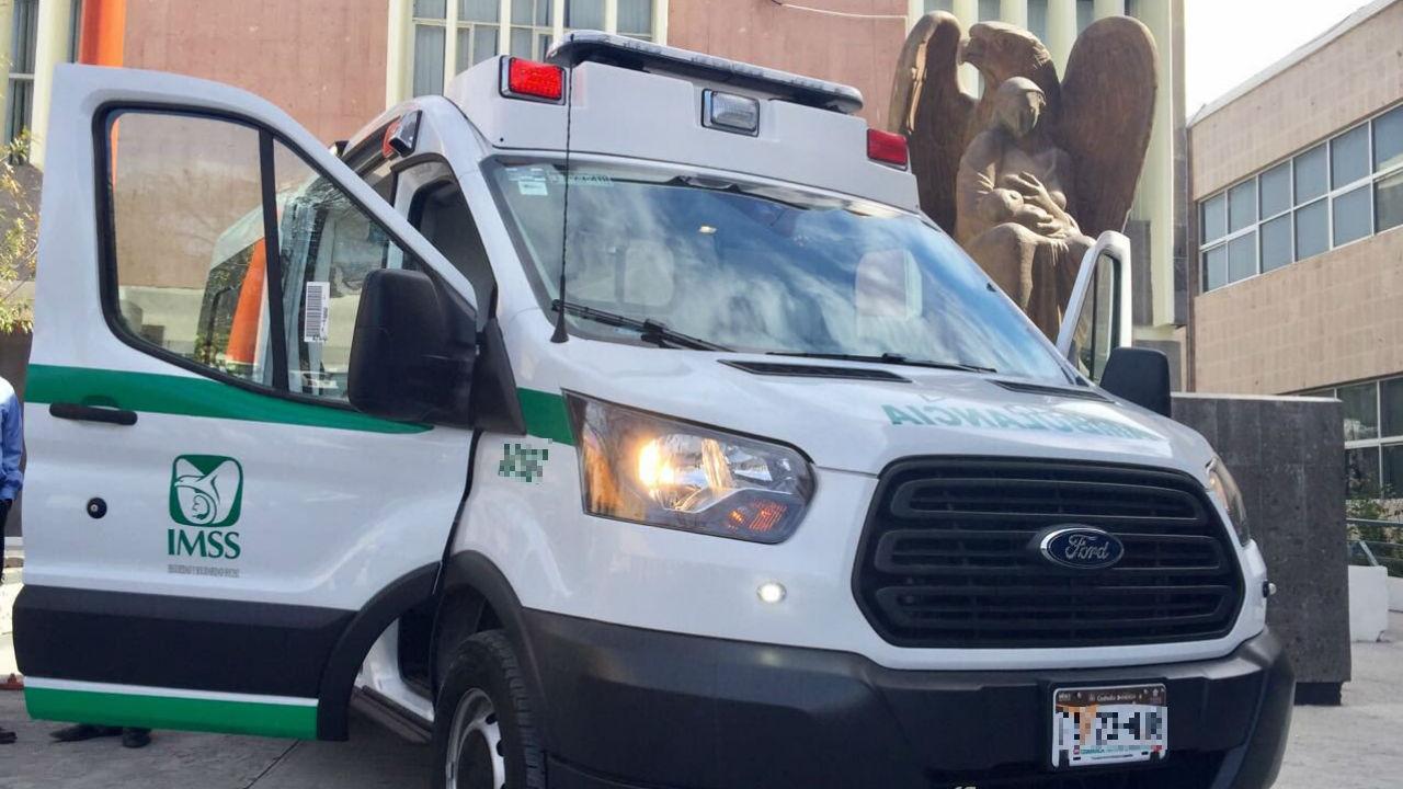 imss ambulancias