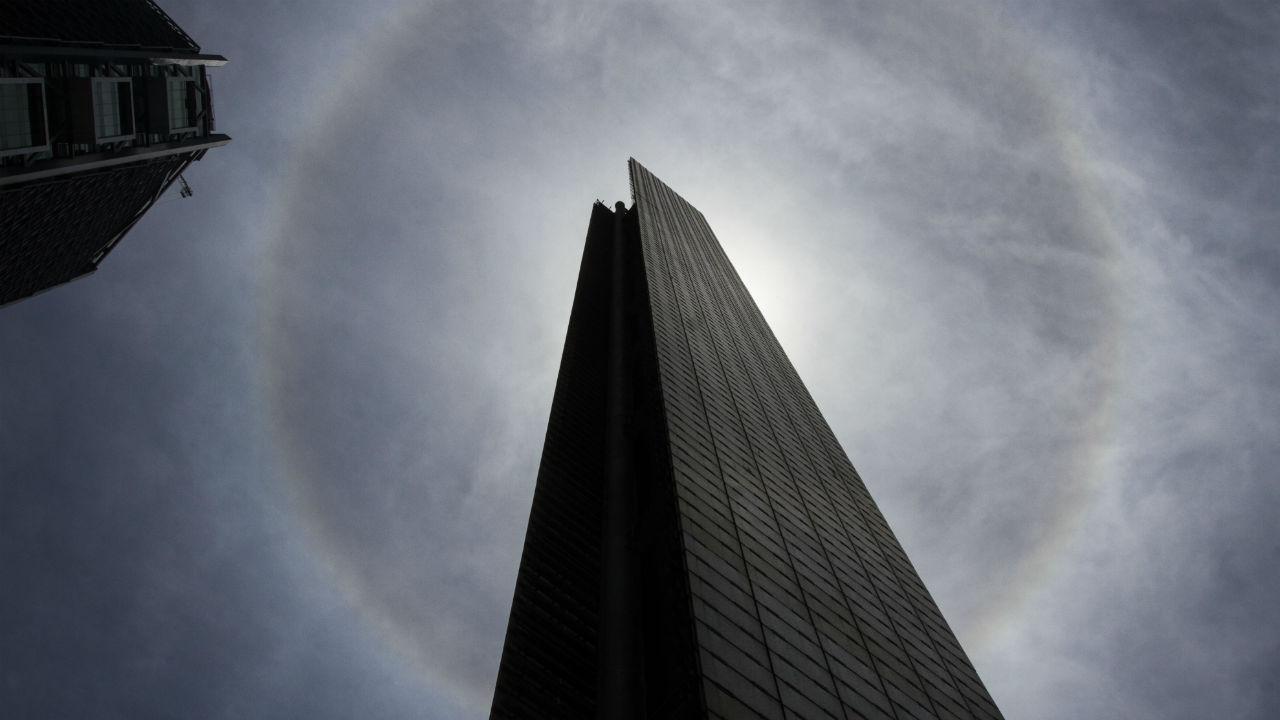 estela luz monumento corrupción