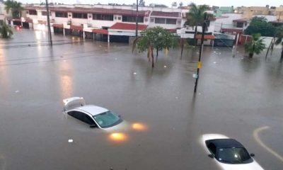 mazatlán inunda lluvias