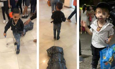 niños disfrazados sicarios