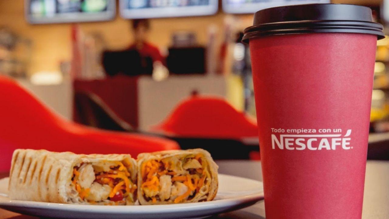 cafeterías Nescafé