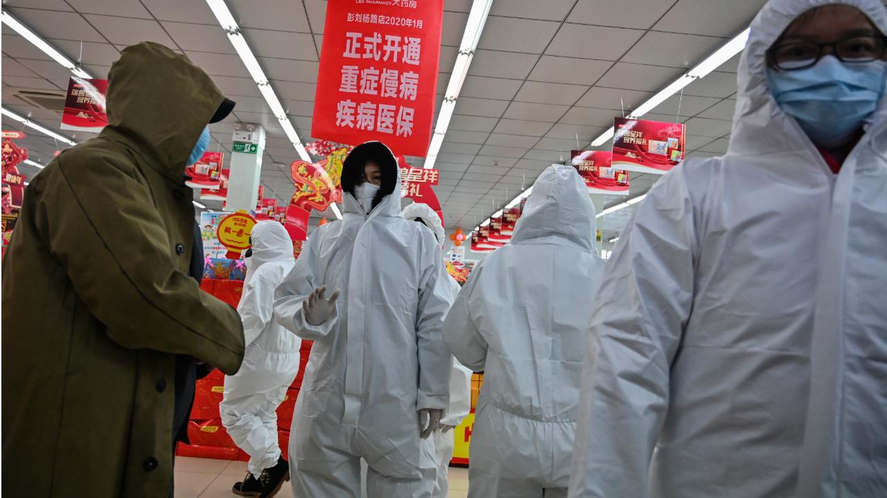 Suman 41 muertos y mil 287 infectados por coronavirus en China