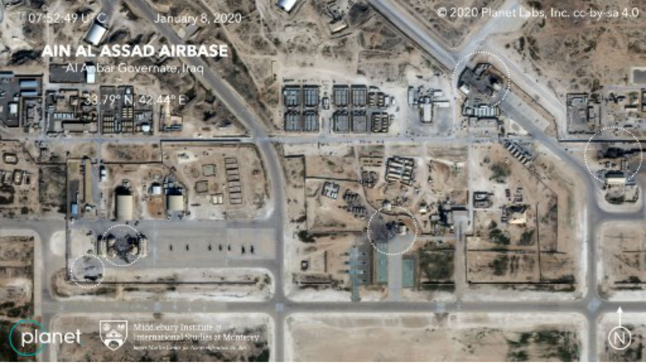 irán bases militares eua irak