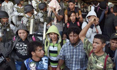 hondureños caravana