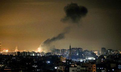 israel bombardeó gaza