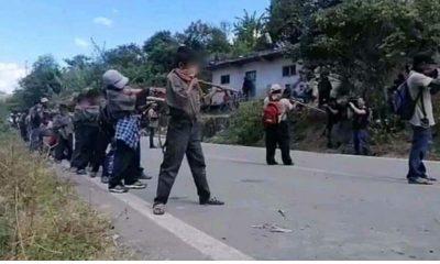 niños policías chilapa