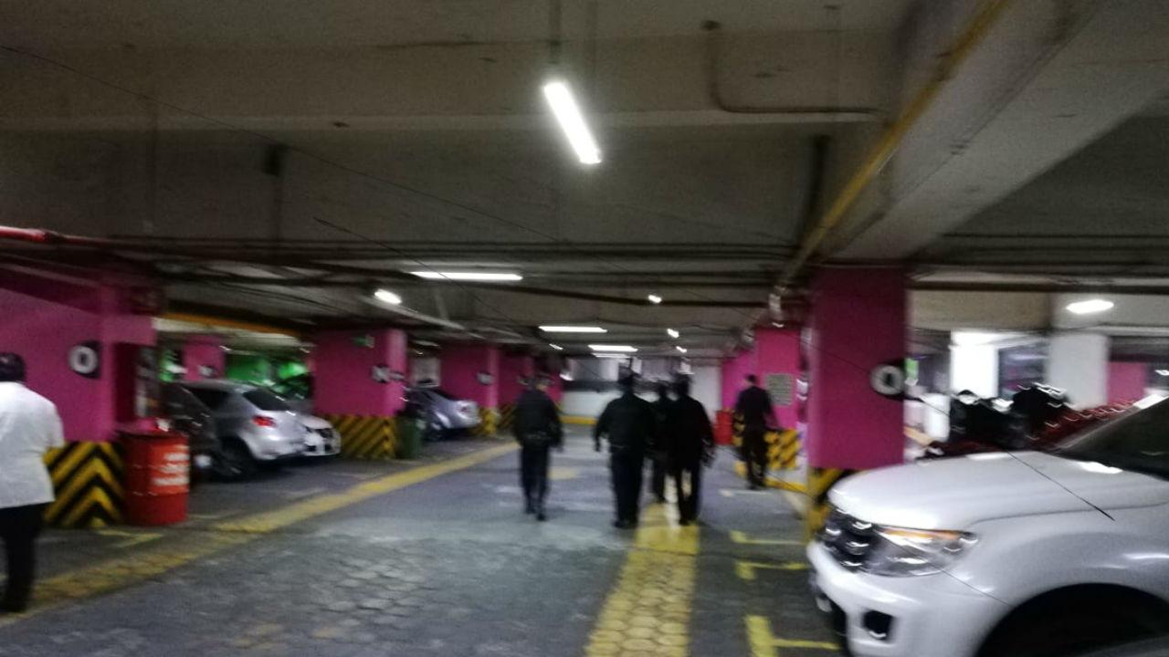 amenaza bomba plaza galerias
