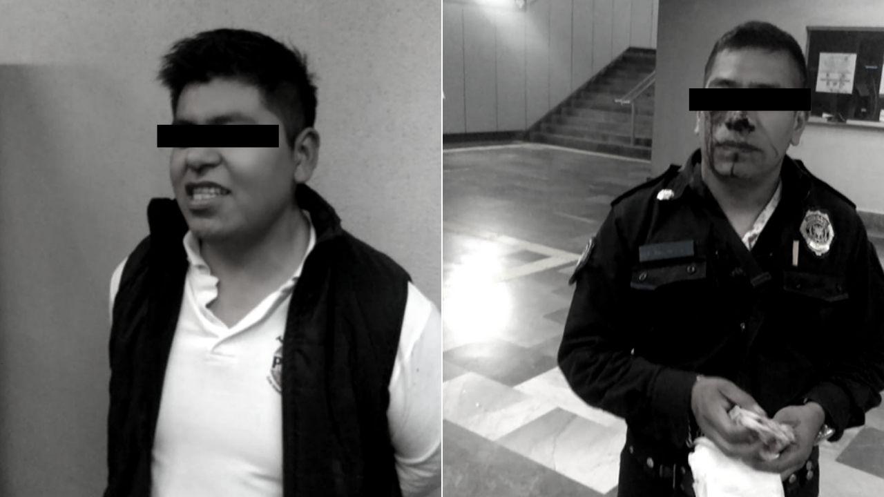 policía Metro Ermita