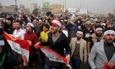 protestas Bagdad