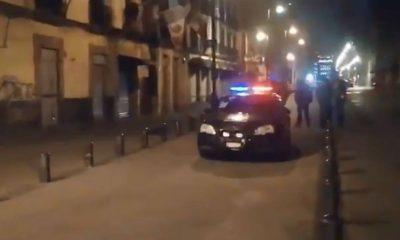 atacó policias centro