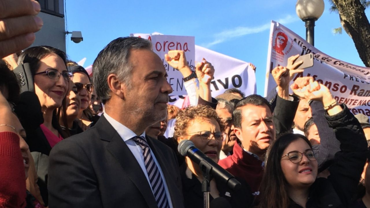Ramírez Cuéllar presidente Morena
