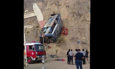 accidente autobús muetos