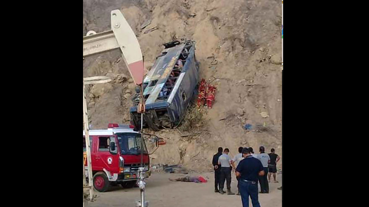 accidente autobús muetos