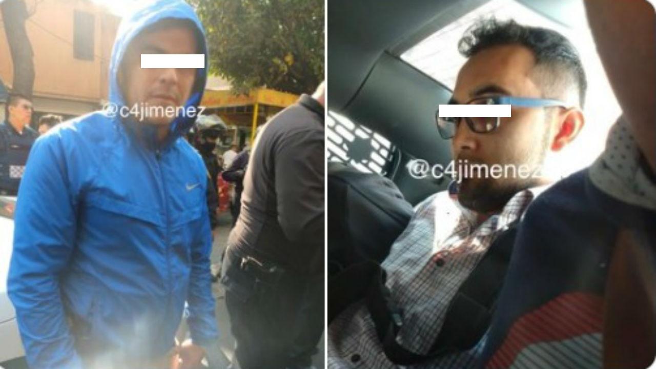 agentes detenidos gam