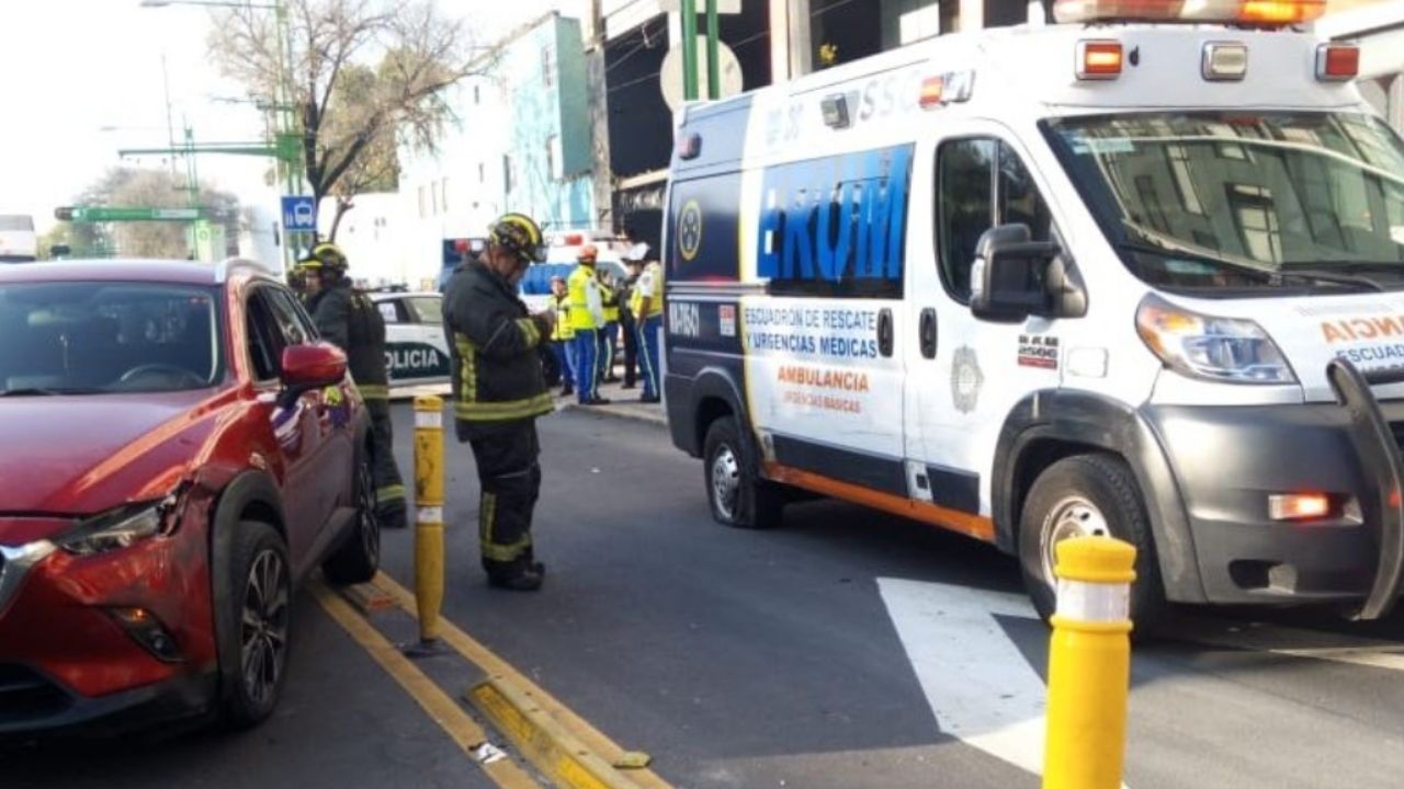 ambulancia Eje Central