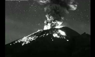 volcán popocatépetl actividad