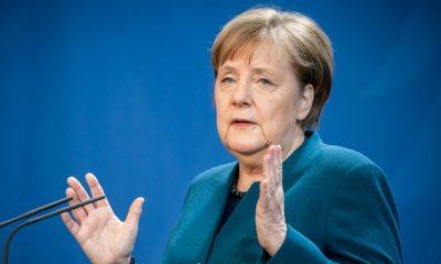 Angela Merkel cuarentena