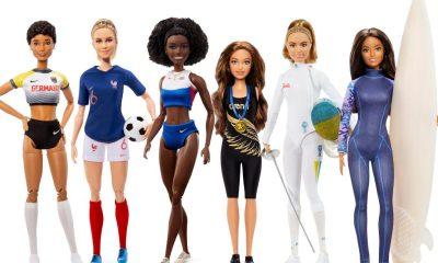 Barbie atletas