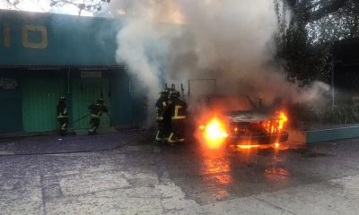 azcapotzalco incendian camioneta