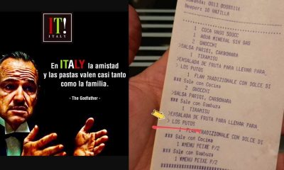 mensaje homofóbico en ticket