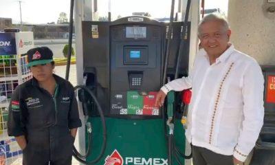 López Obrador gasolina