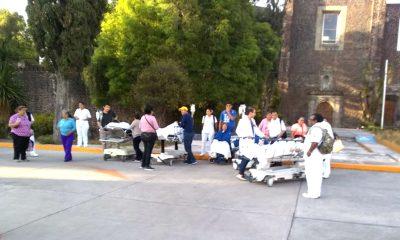 hospital juárez desalojado bomba