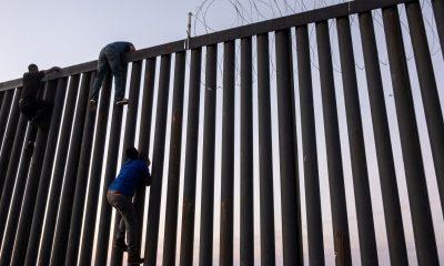 embarazada muro fronterizo