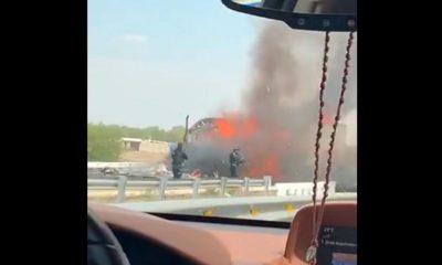 quemaron automóviles querétaro