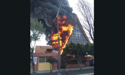 incendio iglesia balbuena
