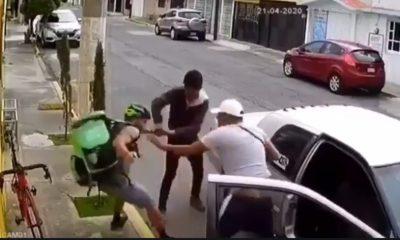 repartidor asaltado toluca