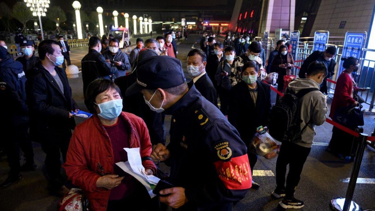 confinamiento Wuhan