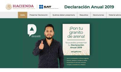 declaración anual SAT