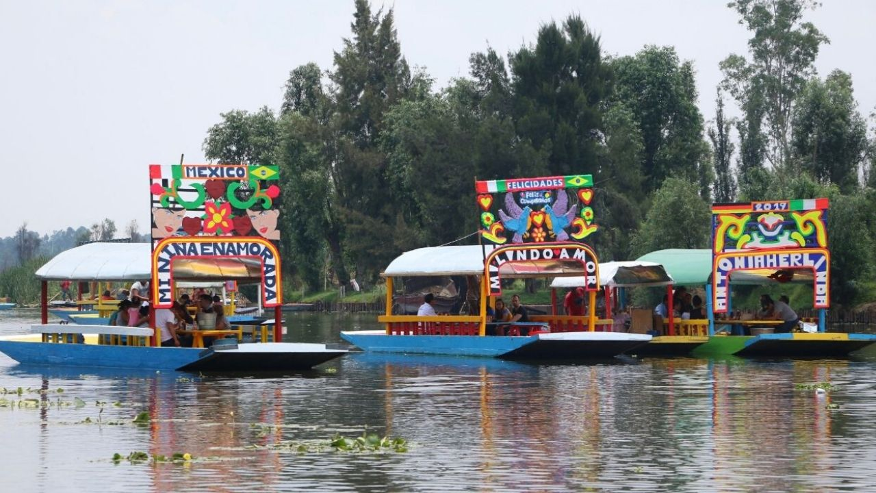 embarcaderos Xochimilco