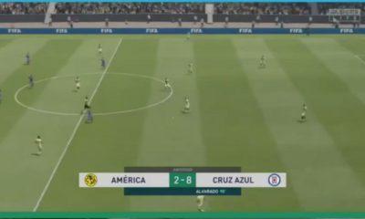 eLigaMx América Cruz Azul