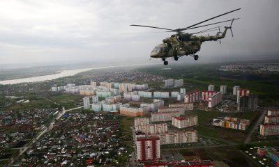 Helicóptero Moscú