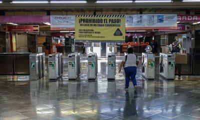 estaciones Metro cerradas