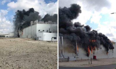 incendio planta Yucatán