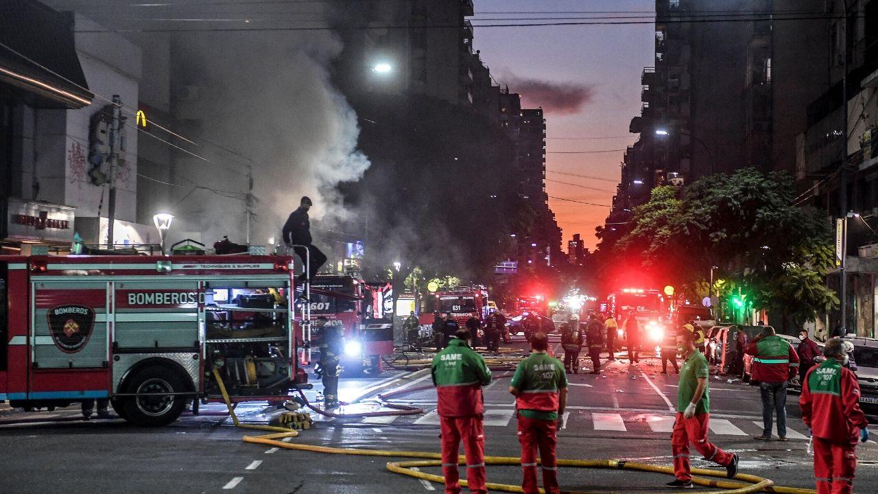 Argentina Explosión