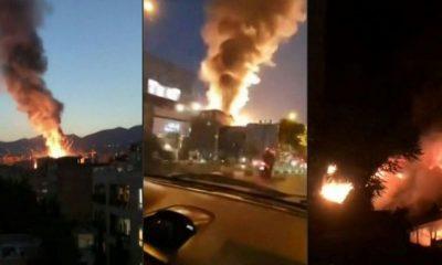 Teherán explosión
