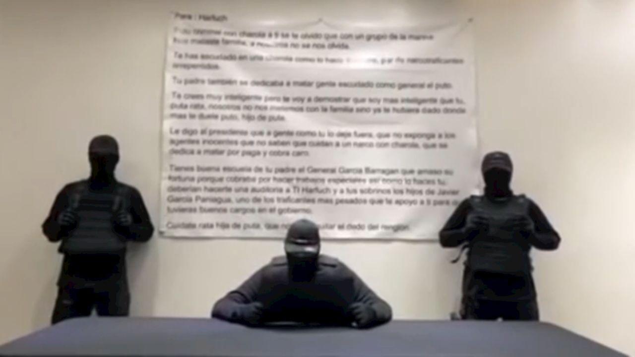 amenaza García Harfuch