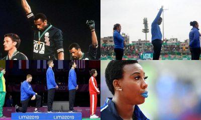 atletas racismo protestan