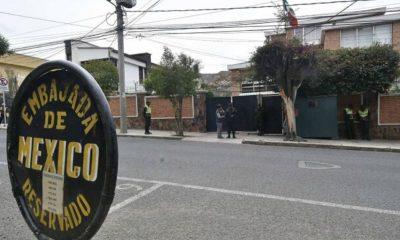 embajada México Bolivia