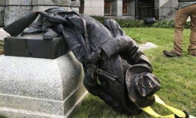 Trump firma orden para proteger estatuas en EUA