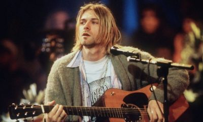 guitarra kurt cobain unplugged de nirvana