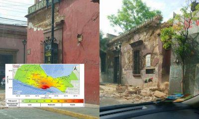 réplicas sismo oaxaca 2020