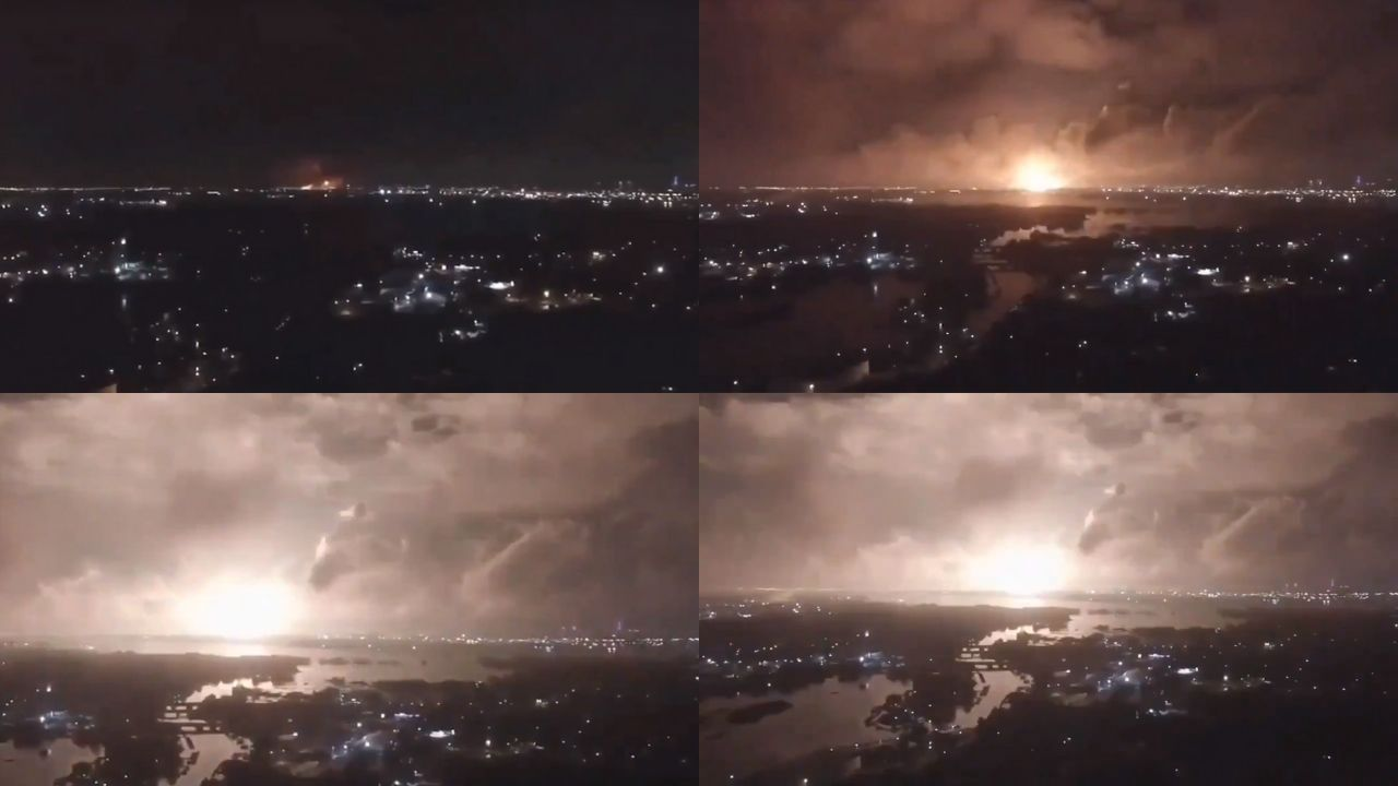 Teherán irán explosión