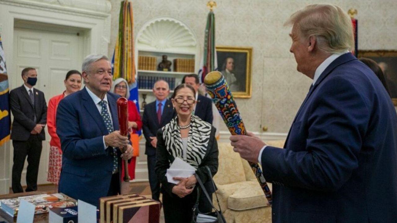 AMLO Trump bates