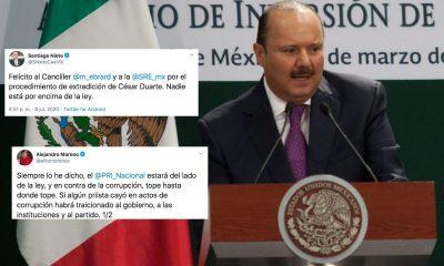 César Duarte detención