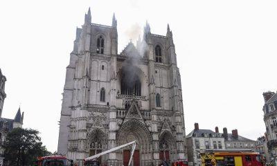 Incendio Nantes